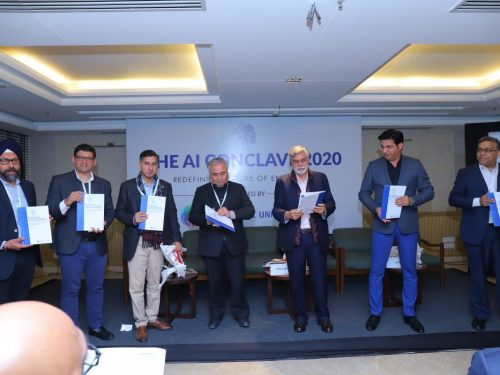 BML Munjal University and AIQRATE came together to curate a bespoke AI conclave