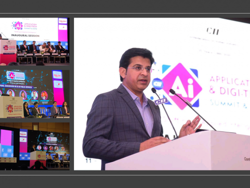 AIQRATE at AI Summit & Expo 2020 Organized by CII