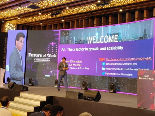 Future of Work 2020: Sameer Dhanrajani, Co-founder of AIQRATE, shares his take on the power of AI