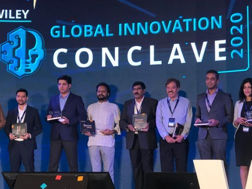 AIQRATE at the launch of Wiley Innovation Black Book 2020 in Wiley Innovation Conclave