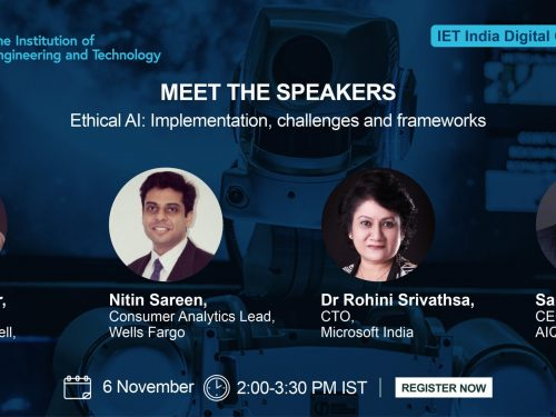 Panel Discussion at IET on Ethical AI: Implementation, Challenges & Frameworks