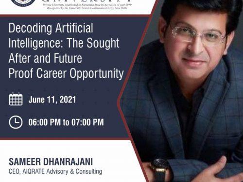 Industry Expert Talk at Alliance University
